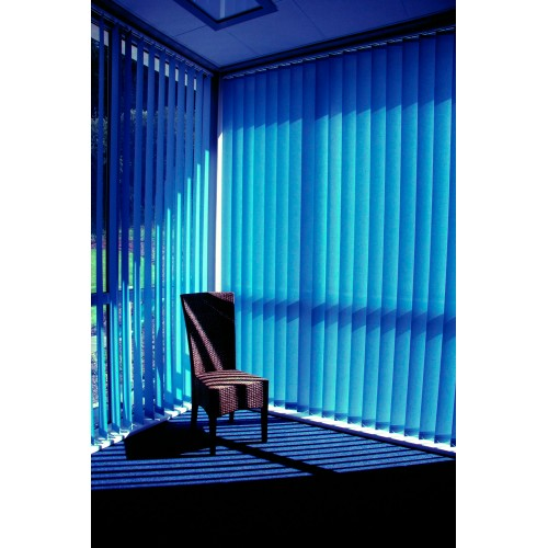 Jaluzea verticala Line 009 Albastru